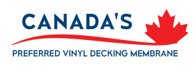 Canada's Preferred Vinyl Decking Membrane